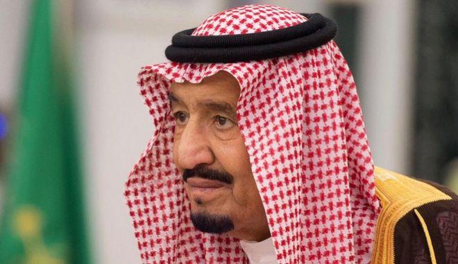 Ο βασιλιάς της Σαουδικής Αραβίας