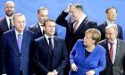 Οι ηγέτες σε αναμνηστική φωτογραφία στο Βερολίνο
