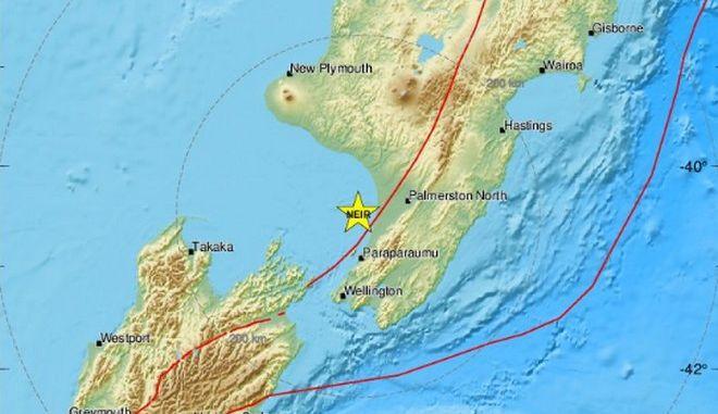 Νέος σεισμός 5,2 Ρίχτερ στη Νέα Ζηλανδία