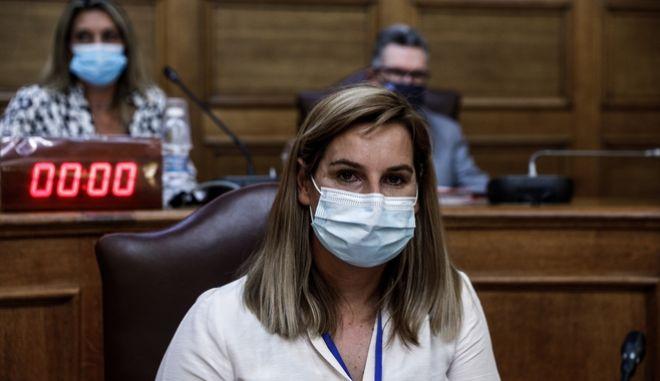 Η Σοφία Μπεκατώρου στην επιτροπή Ισότητας της Βουλής