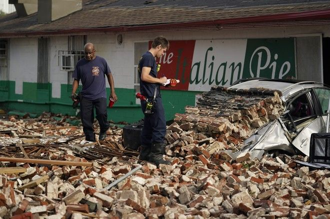 Ο τυφώνας Άιντα πλήττει τη Λουιζιάνα
