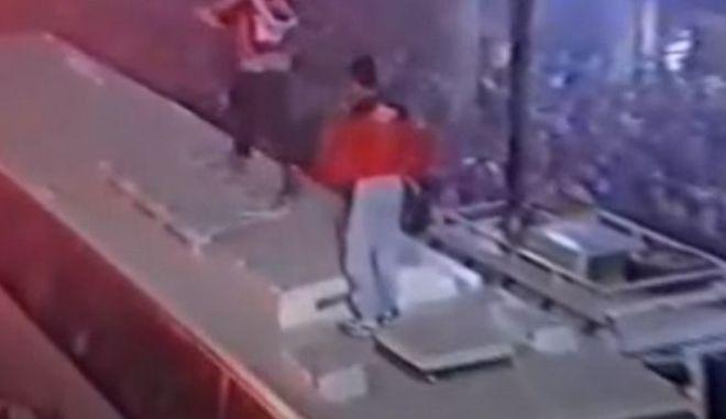 Κουτσόπουλος: Ο κριτής του MasterChef πανηγυρίζει στην οροφή του πούλμαν για το Κύπελλο του Πανιωνίου το 1998