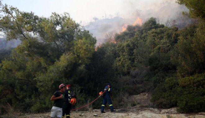Διαστάσεις παίρνει η φωτιά στη Ζάκυνθο - Σε εξέλιξη στην Πάρο και στην Εύβοια