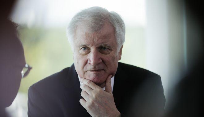 Ο γερμανός υπουργός Εσωτερικών και Αρχηγός της Χριστιανοκοινωνικής Ένωσης (CSU), Χορστ Ζεεχόφερ