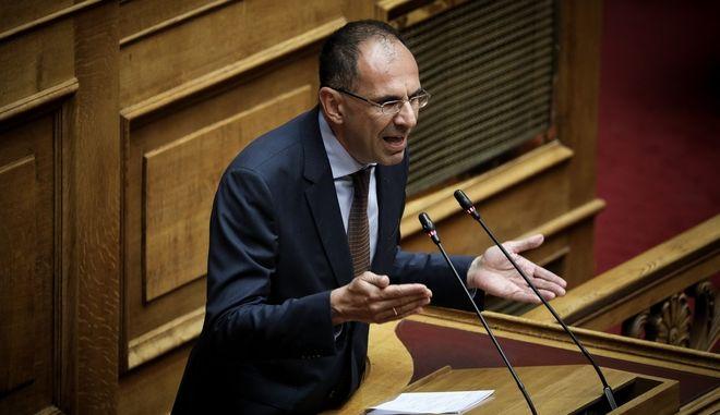 Ο Υπουργός Επικρατείας, Γεώργιος Γεραπετρίτης