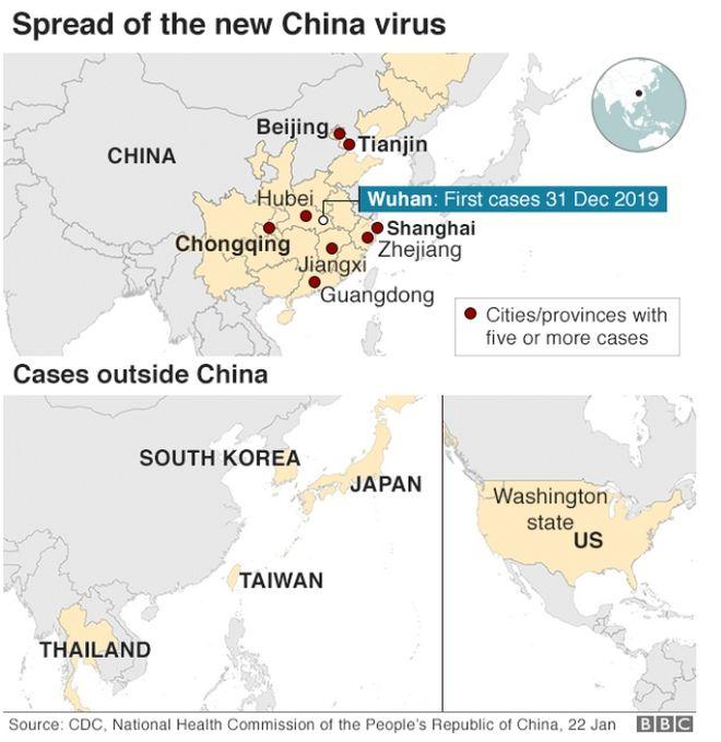 Που έχουν υπάρξει κρούσματα του ιού