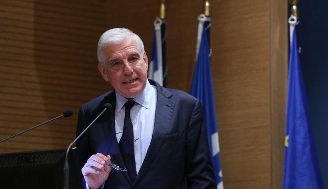 Ο πρώην υπουργός Γιάννος Παπαντωνίου