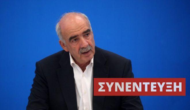 Μεϊμαράκης στο ΝEWS 247: Κανείς δε μίλησε για απολύσεις στο δημόσιο, αλλά για μεταρρυθμίσεις