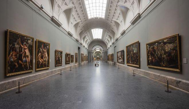 Το μουσείο Πράδο εντελώς άδειο