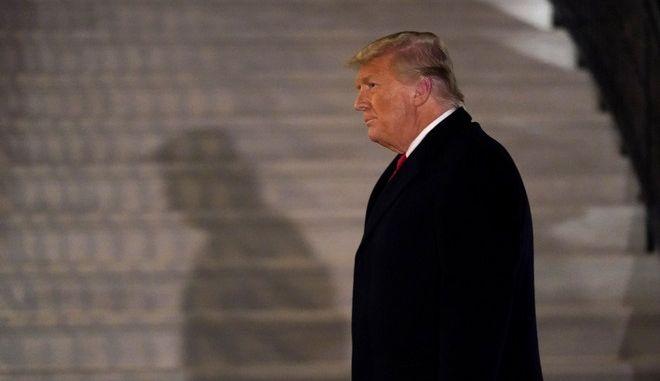 Ο απερχόμενος πρόεδρος των ΗΠΑ