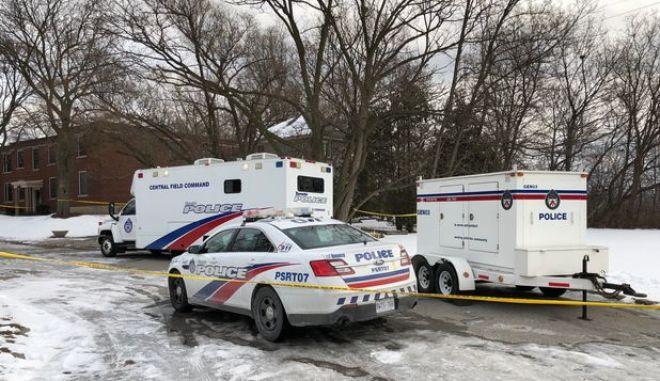 Περιπολικά της καναδέζικης αστυνομίας
