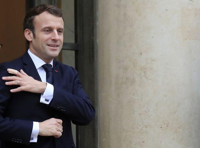 O Γάλλος πρόεδρος Εμανουέλ Μακρόν