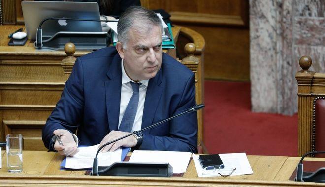 Ο υπουργός Εσωτερικών, Τάκης Θεοδωρικάκος. Photo credits: ΚΟΝΤΑΡΙΝΗΣ ΓΙΩΡΓΟΣ - EUROKINISSI