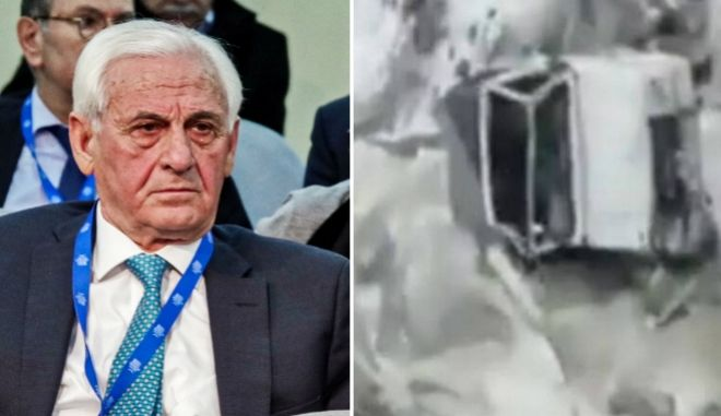 Θεόδωρος Νιτσιάκος: Βίντεο - ντοκουμέντο από το τραγικό τροχαίο δυστύχημα