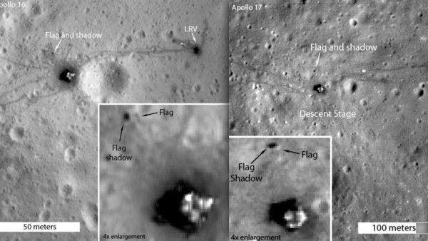 Μηχανή του Χρόνου: Τι απέγιναν οι σημαίες που κάρφωσαν οι αστροναύτες στην επιφάνεια της Σελήνης;