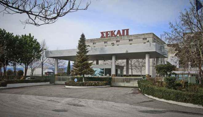 Το εργοστάσιο της καπνοβιομηχανίας ΣΕΚΑΠ (Συνεταιριστική Καπνοβιομηχανία Ελλάδας) στην Ξάνθη, το Σάββατο 30 Δεκεμβρίου 2017. (EUROKINISSI/ΛΑΣΚΑΡΗΣ ΤΣΟΥΤΣΑΣ)