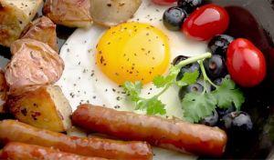 Ένα πλούσιο πρωινό