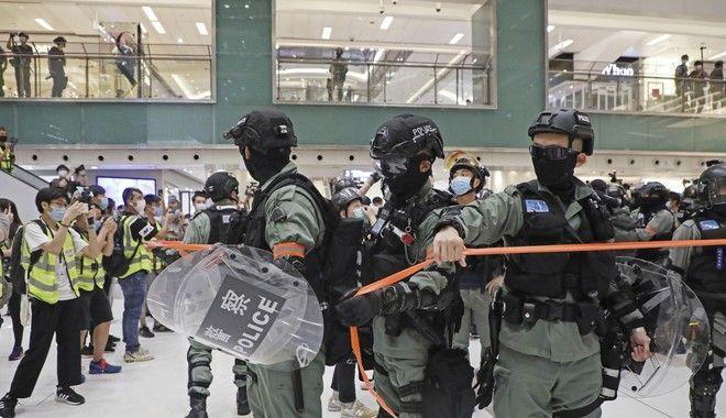 Συγκρούσεις στο Χονγκ Κονγκ