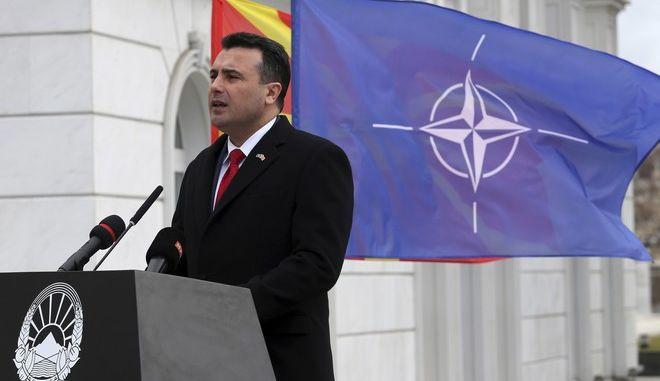 """Ο Ζάεφ αποκάλεσε για πρώτη φορά τη χώρα του """"Βόρεια Μακεδονία"""""""