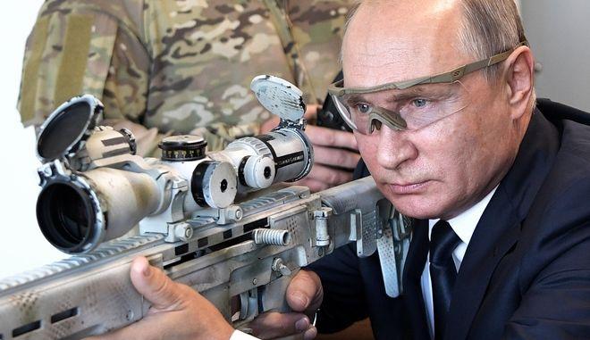Ο Βλάντιμιρ Πούτιν