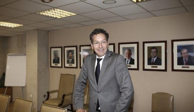 Meeting between counterparts Euclid Tsakalotos and Jeroen Dijsselbloem, at the Ministry for Finance, in Athens, on Sep. 25, 2017 /       Jeroen Dijsselbloem,  ,  25 , 2017