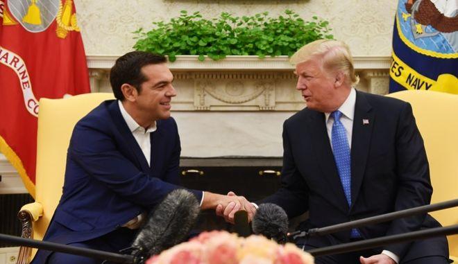 Τσίπρας και Τραμπ στο Λευκό Οίκο