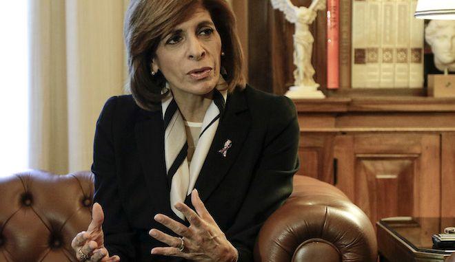 Η Ευρωπαία επίτροπος Υγείας, Στέλλα Κυριακίδου