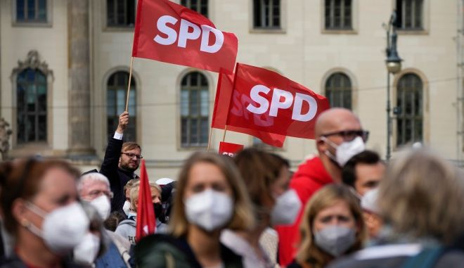 SPD: Εκστρατεία φόβου από τους Χριστιανοδημοκράτες τα περί ολίσθησης προς τα αριστερά