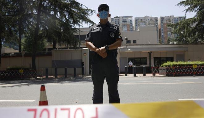 Αστυνομία στην Κίνα
