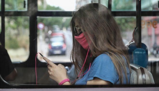 Έλεγχοι για μάσκες και αποστάσεις σε Μέσα Μαζικής Μεταφοράς
