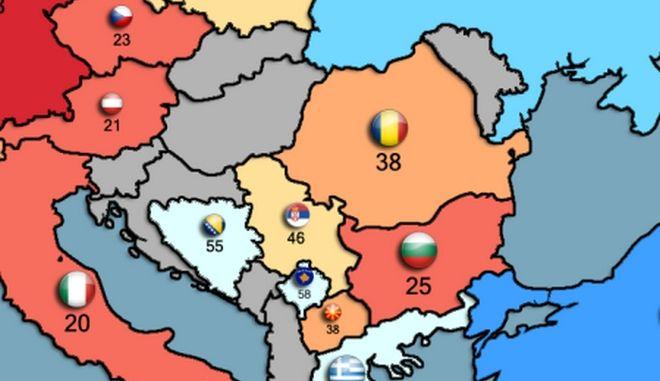 Χάρτης: Θα πολεμούσες για την πατρίδα; Τι απάντησαν οι Έλληνες