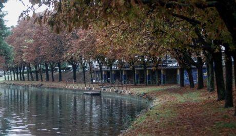 Εικόνα από τον Ληθαίο ποταμό στην πόλη των Τρικάλων