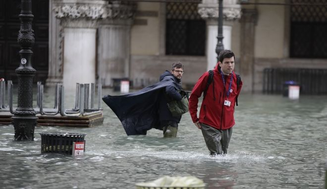 Πλημμύρισε ξανά η Βενετία