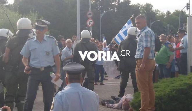 Θεσσαλονίκη: Συνελήφθη ο άνδρας που χτύπησε τον 42χρονο έξω από το Δημαρχείο