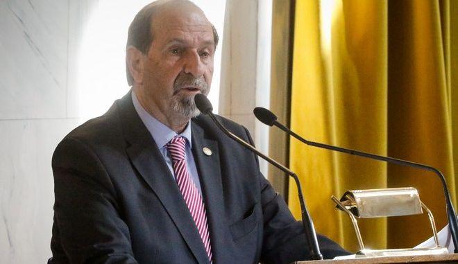 Ο ομότιμος καθηγητής Εκκλησιαστικού Δικαίου στη Νομική Σχολή του Πανεπιστημίου Αθηνών, Γιάννης Κονιδάρης