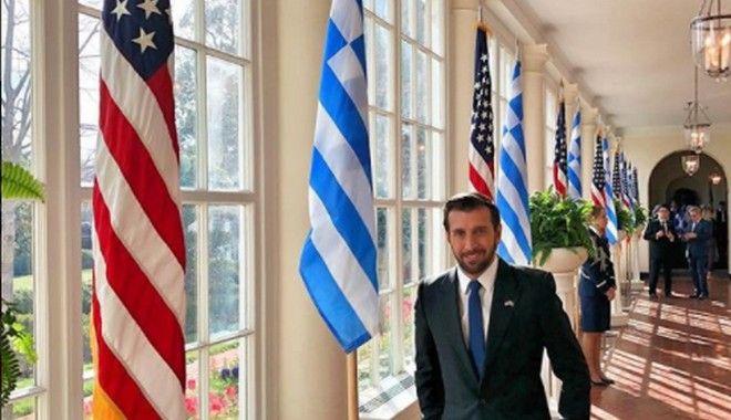 Ο Θάνος Πετρέλης στο Λευκό Οίκο για την 25η Μαρτίου