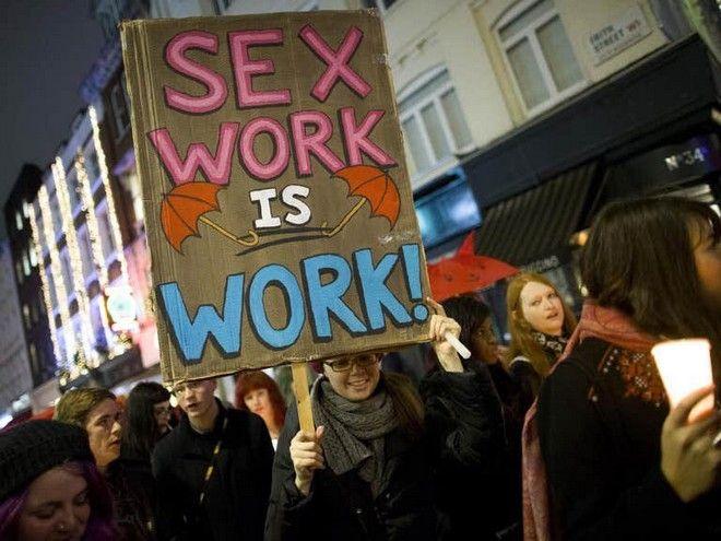 Πορεία υποστήριξης των δικαιωμάτων των εργαζομένων του σεξ