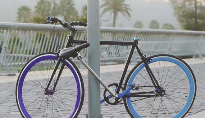 Το ποδήλατο που κανείς δεν μπορεί να κλέψει