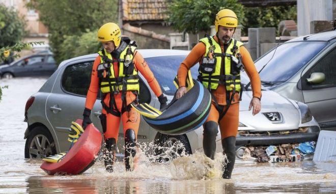 Φωτό αρχείου: Πλημμύρες στη Γαλλία