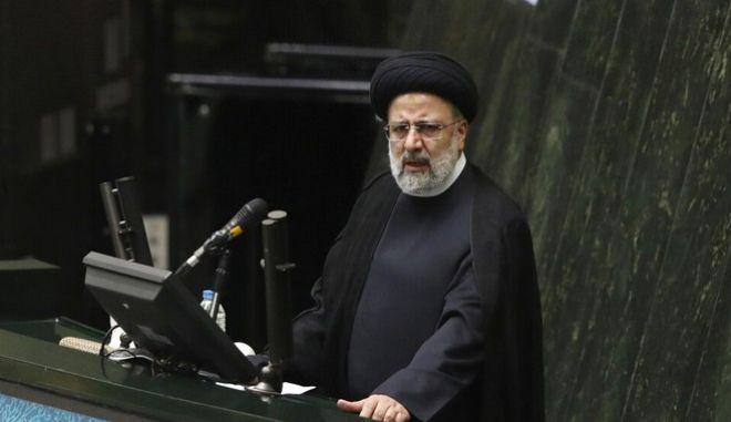 Ο πρόεδρος του Ιράν, Εμπραχίμ Ραϊσί