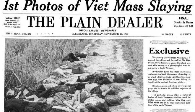 50 χρόνια από τη Σφαγή του Μι Λάι στο Βιετνάμ - Έριχναν μέχρι και χειροβομβίδες στα γυναικόπαιδα