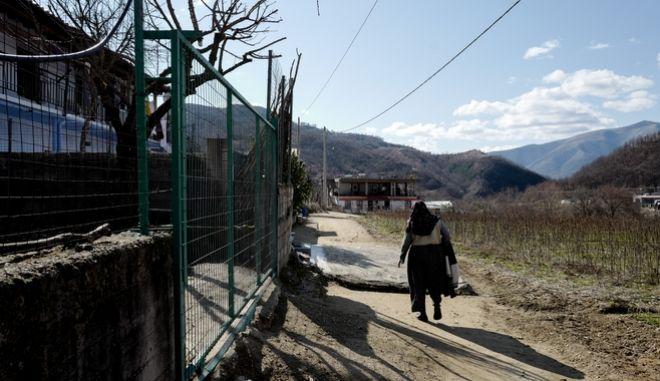 Το χωριό Εχίνος κατά τη διάρκεια της καραντίνας