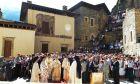 Λειτουργία στην Παναγία Σουμελά. Φωτό αρχείου.