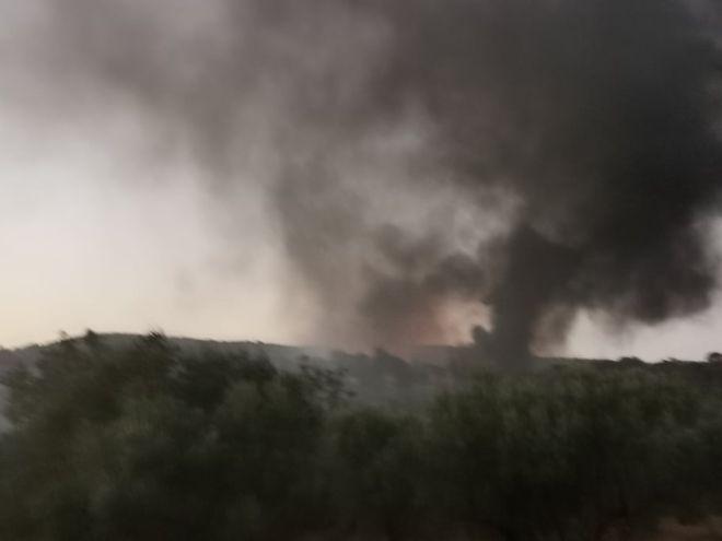 Νέα φωτιά το απόγευμα της Τετάρτης στο ΚΥΤ της Μόριας