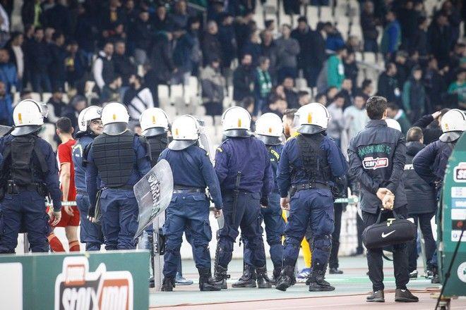 Αστυνομικοί στο ΠΑΟ - ΟΣΦΠ
