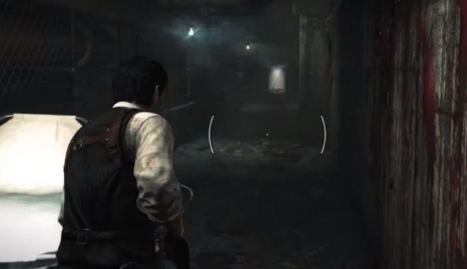 Σκηνή από το video game The Evil Within