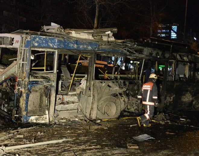 Έκρηξη στο κέντρο της Άγκυρας με νεκρούς και τραυματίες