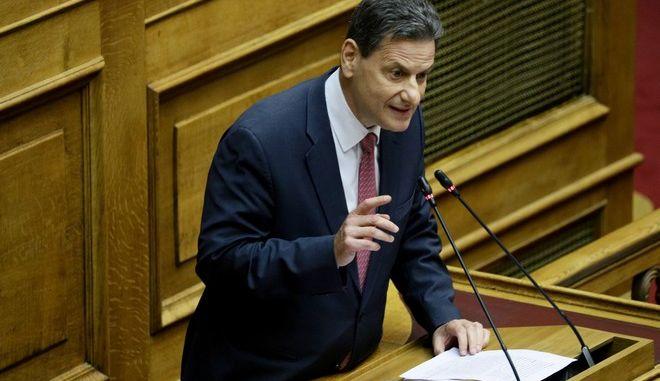 O υφυπουργός αρμόδιος για την δημοσιονομική διαχείριση, Θόδωρος Σκυλακάκης