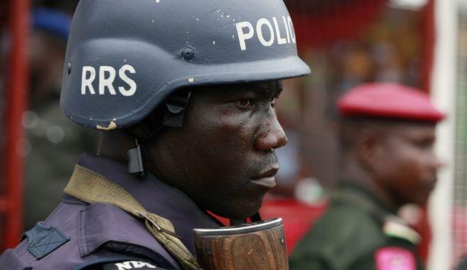 Νιγηριανός αστυνομικός (φωτογραφία αρχείου)
