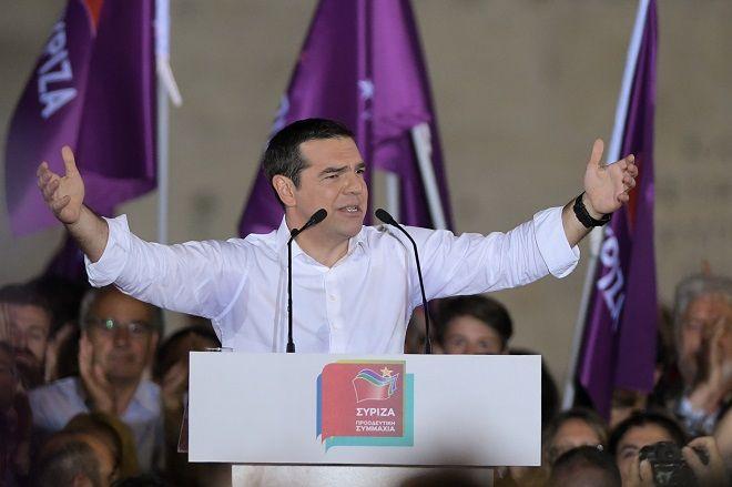 Ομιλία του Πρωθυπουργού Αλέξη Τσίπρα στην κεντρική προεκλογική συγκέντρωση του ΣΥΡΙΖΑ την, Παρασκευή 24 Μάη 2019.